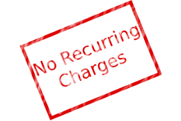 No Recurring Charges